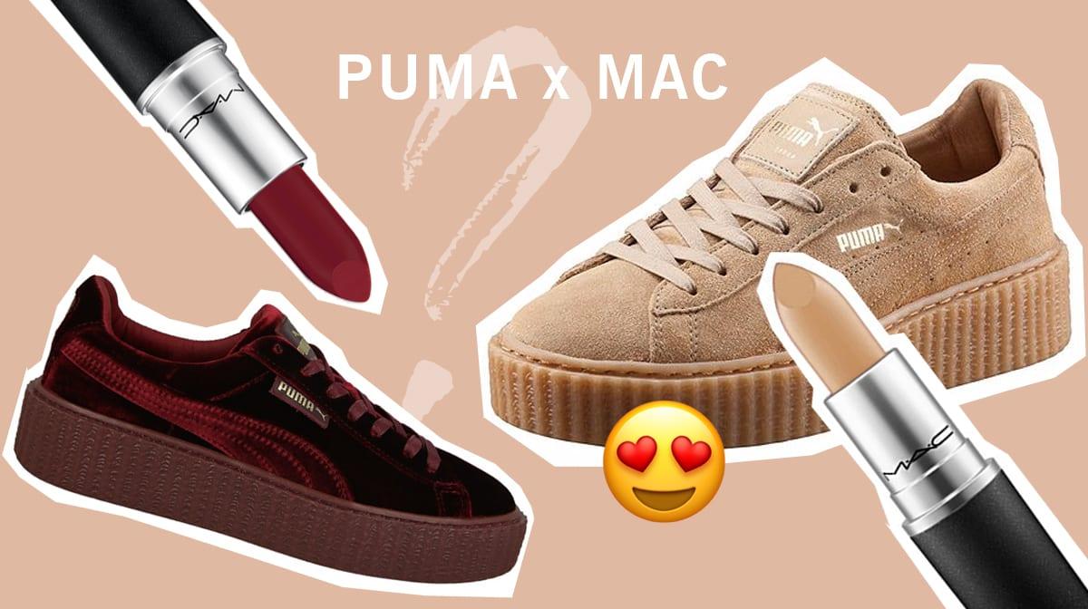 Die Traumkooperation, auf die du gewartet hast: PUMA x MAC!!!!