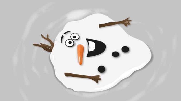 Selbst Schneemann Olaf schmilzt bei diesem Make-up dahin – wir auch!