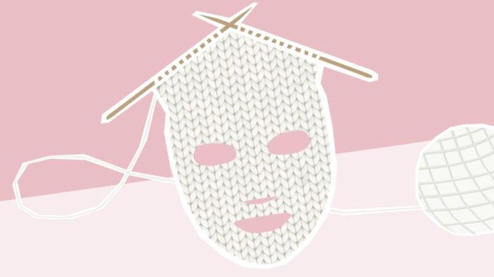 Knit Mask: Diese Maske ist wie ein kuscheliger Sweater für dein Gesicht