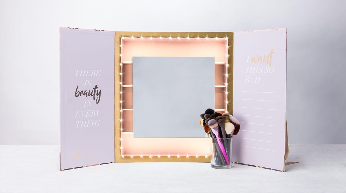 GLOSSY DIY: So entzückend ist das Make-up-Grade für deinen leeren GLOSSYBOX Adventskalender!