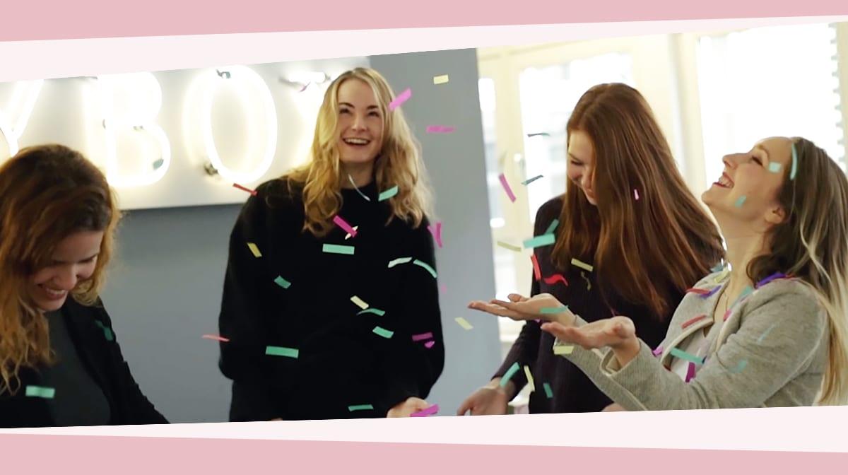 Jahresrückblick: GLOSSYBOX sagt DANKE für ein grandioses 2017!