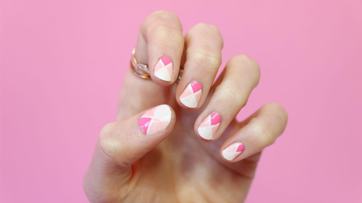 GLOSSY Tutorial: Namaste im Quadrat ist gleich? Dieses Nail Design!