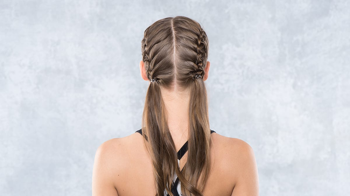 Yoga-Frisur
