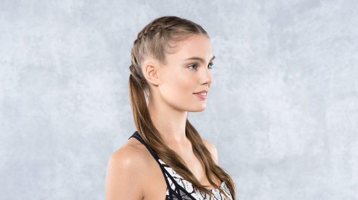 GLOSSY Looks: Deine perfekte Yogafrisur – Half Boxer Braids