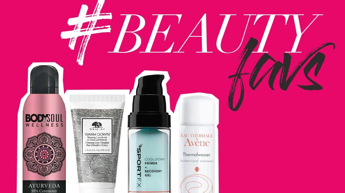 #beautyfavs: Mach dein Workout dank dieser Pflegeprodukte noch effektiver!