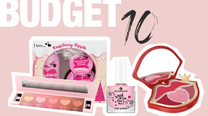 #budgetbeauty: Beauty satt im V-day-Design unter 10 Euro