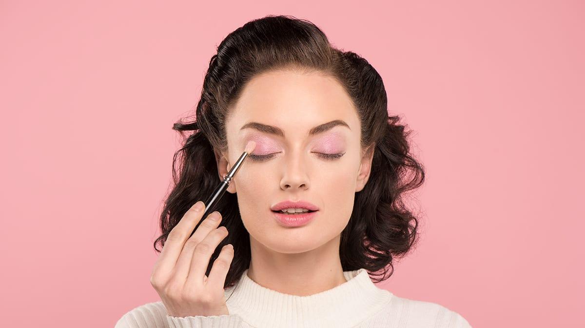 Augen-Make-up Wolke Sieben 2