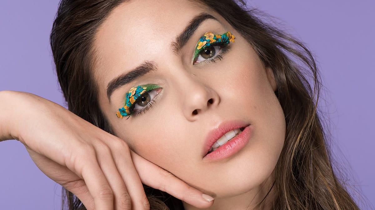 Flower-Eyeliner