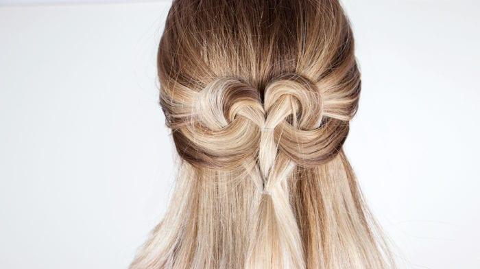 GLOSSY Tutorial: Diese Frisur verzaubert dich nicht nur am Valentinstag!