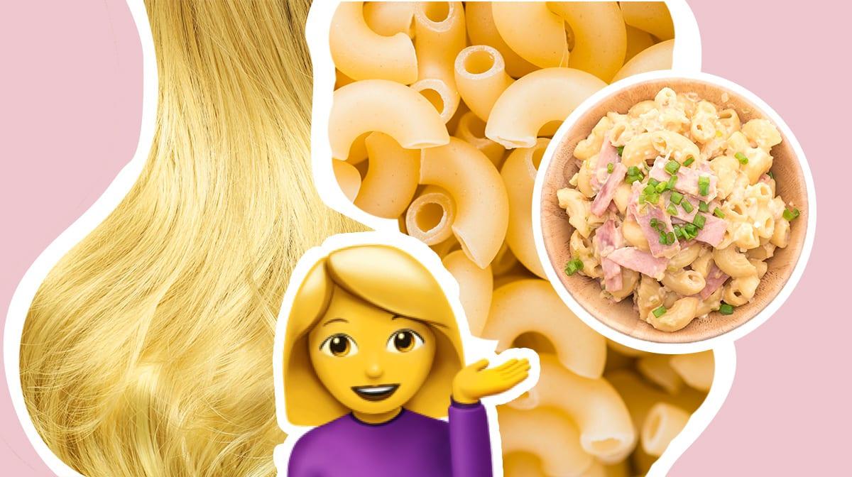 Dieser heiße Haartrend des Frühlings hat mehr mit Essen zu tun, als du denkst