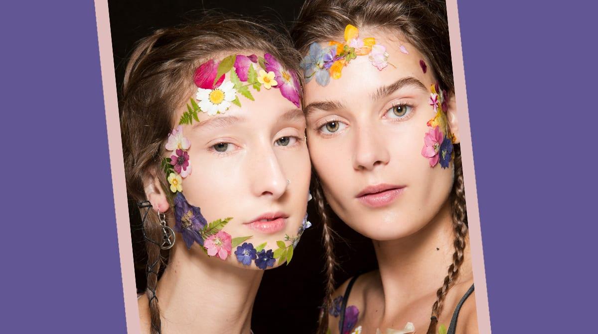 #flowerlove: Blumen tragen wir jetzt auch im Gesicht