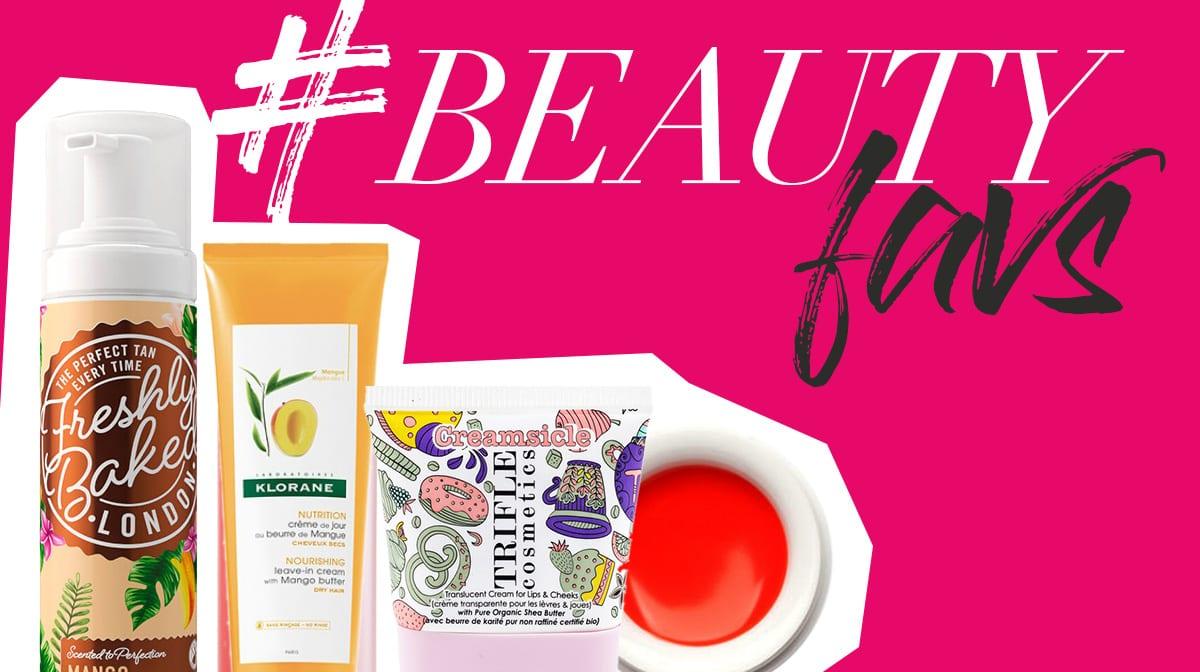 #beautyfavs: In diesen Produkten steckt tropische Beauty Power von Mango, Papaya und Co!