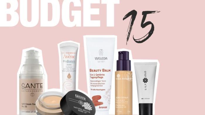 #budgetbeauty: 10 nachhaltige Foundations unter 15 Euro
