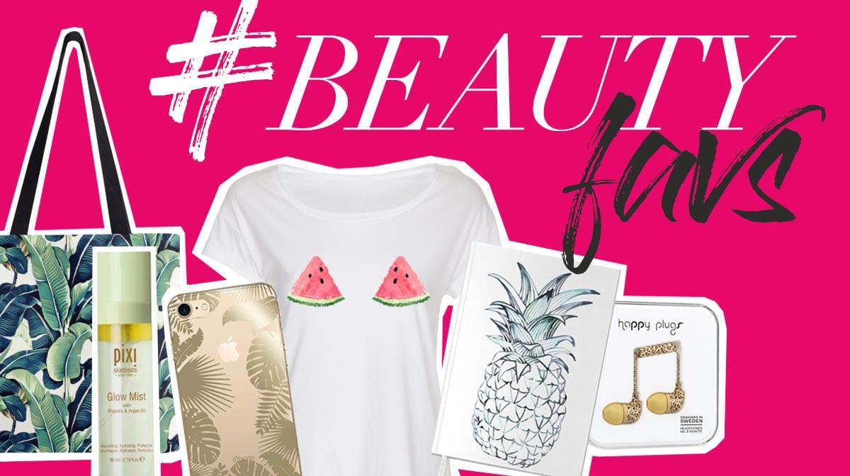 #beautyfavs: Mit diesen Produkten holst du Tropenfeeling in deinen Büroalltag