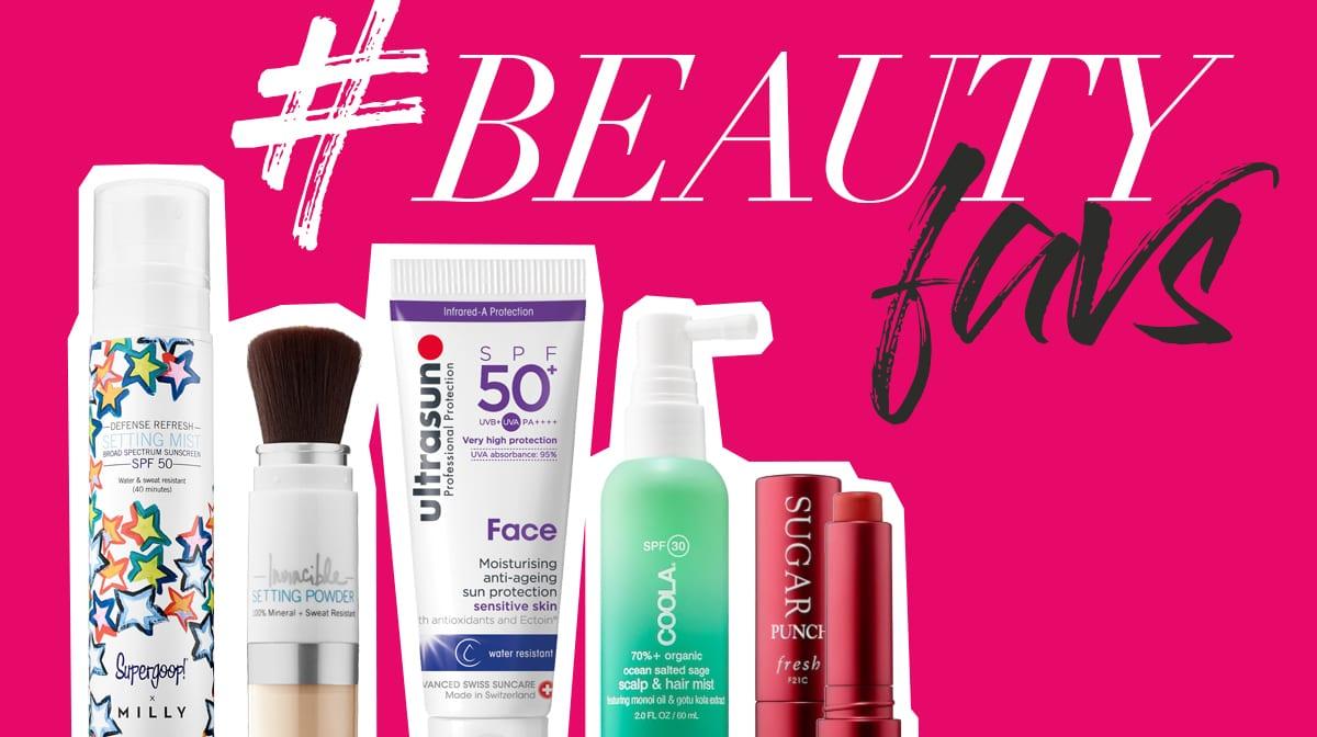 #beautyfavs: Diese 11 Beautyprodukte bezirzen mit LSF und anderen Benefits