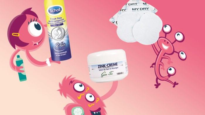 Schweißflecken, Hitzepickel und Co: So wehrst du dich gegen fiese Beauty-Monster!