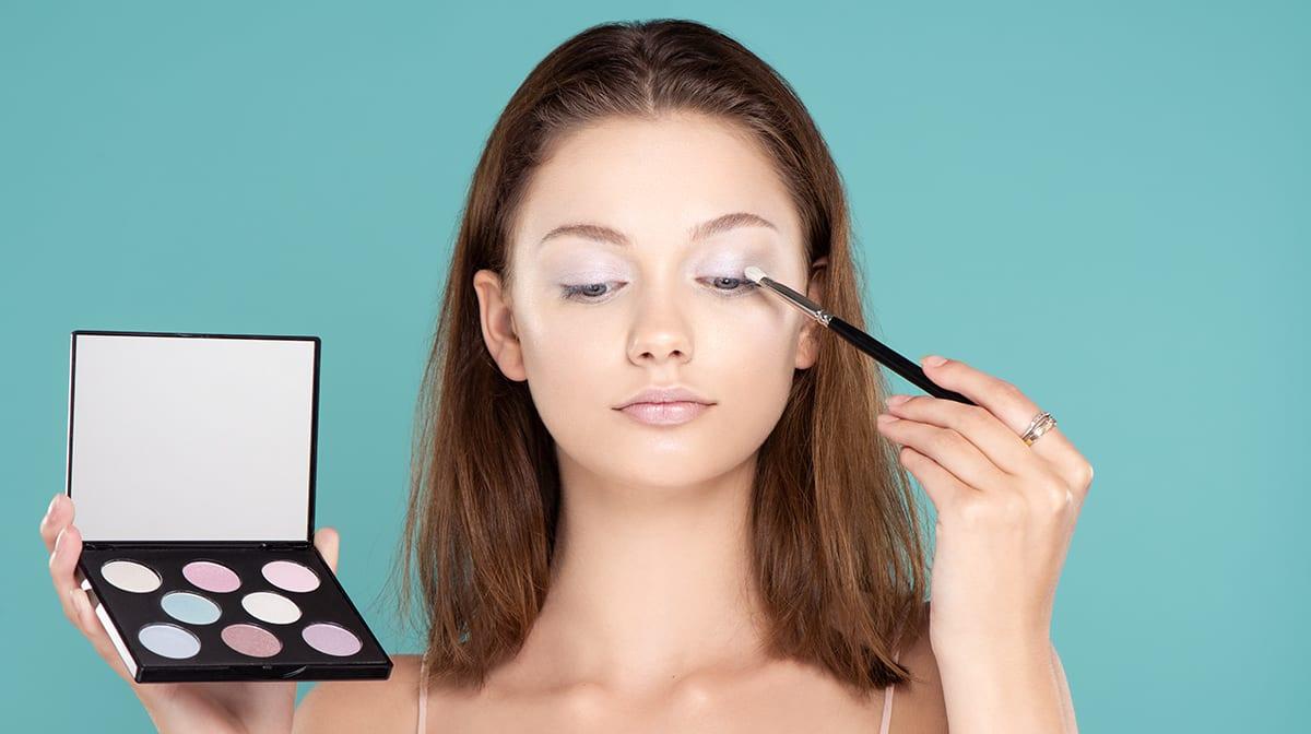Dazzliner Augen-Make-up