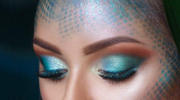 Nicht alltagstauglich, aber soooo Mermaid: Meerjungfrau-Make-up