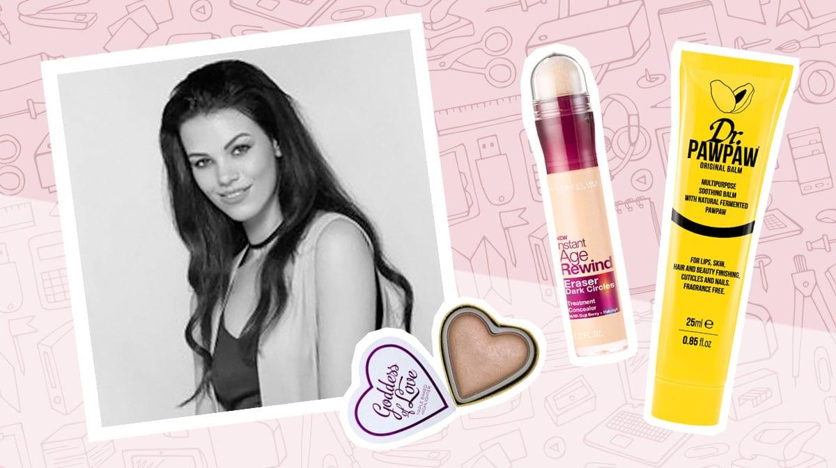Diese Beauty-Produkte liegen auf unsern GLOSSY Schreibtischen_Glossies_Julia