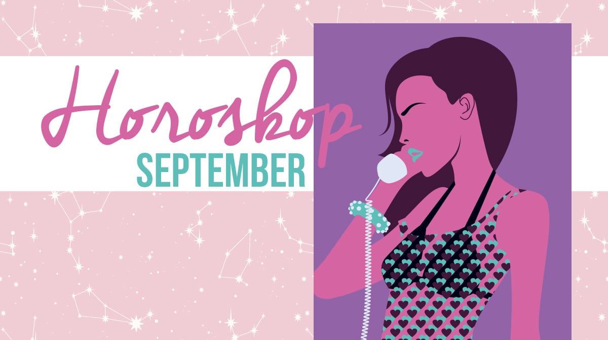 GLOSSY Horoskop: Das sagen deine Beauty-Sterne im September