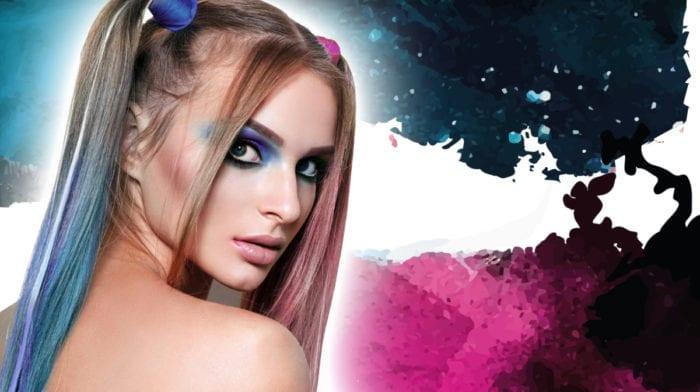GLOSSY Looks: Von Harley Quinn inspiriert, im Alltag getragen
