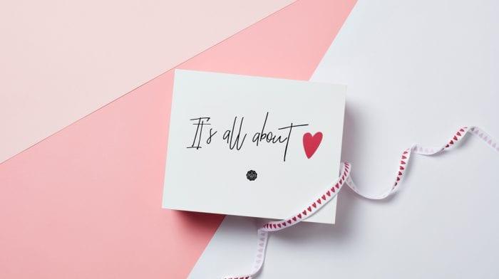 GLOSSYBOX im Februar: Wir sind verliebt in unsere It's all about love Edition!