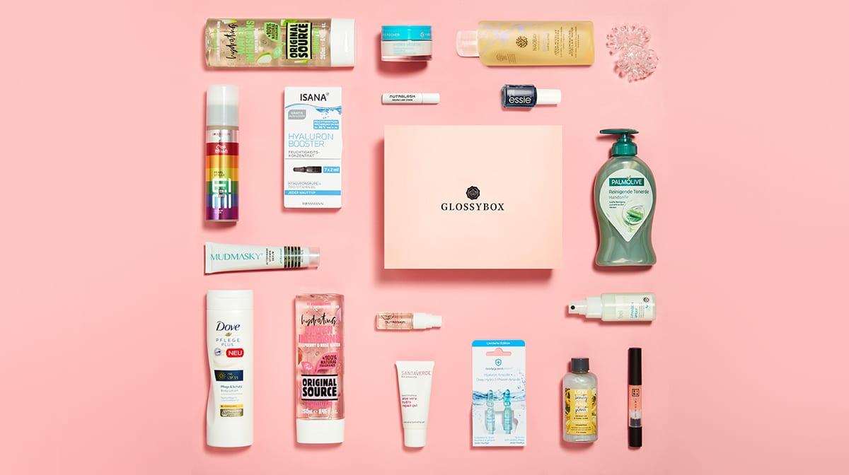 GLOSSYBOX im Juli: Unsere Topprodukte aus der #stayhydrated Edition!