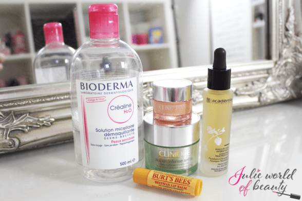 La routine Soins sur mesure de Julie World of Beauty