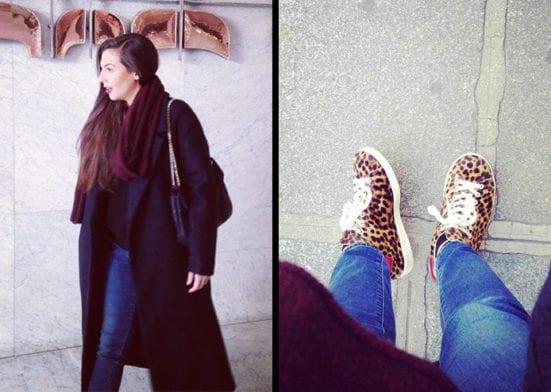 Fashion Inspiration: Le look d'hiver de Céline