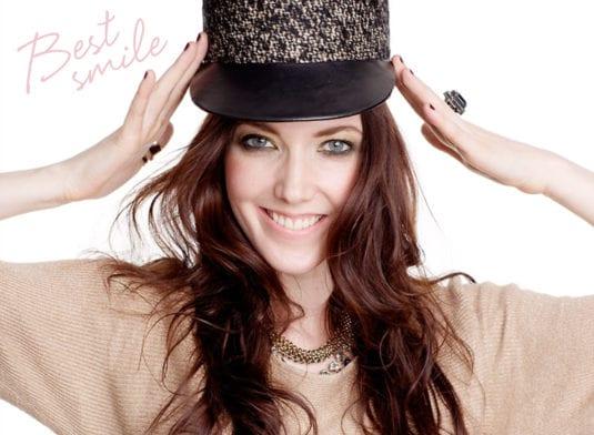 Victoria Senkpiel le plus beau sourire de l'équipe GLOSSYBOX Suède