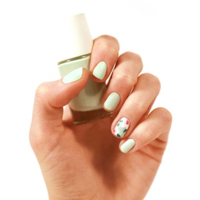 Flower Power : Tuto Nail Art