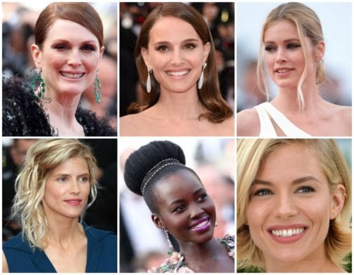Les make-up looks de Cannes