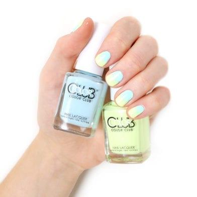 Tuto nail-art : pastel néon