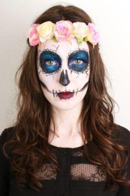 GLOSSYHalloween : Maquillage Sugar Skull