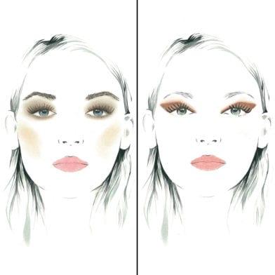 TUTO: 2 looks avec la Palette de maquillage l'essentielle