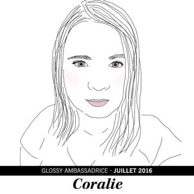Coralie, notre ambassadrice de juillet 2016