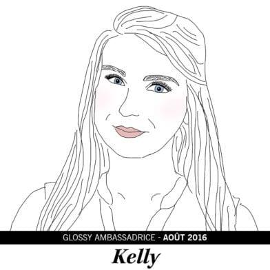 Kelly, notre ambassadrice du mois d'Août 2016