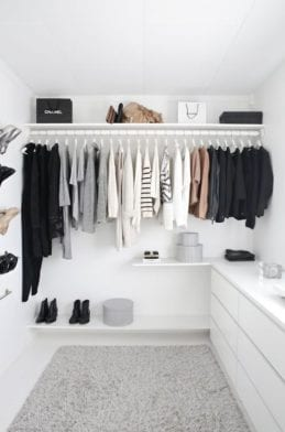 Trois tendances minimalistes