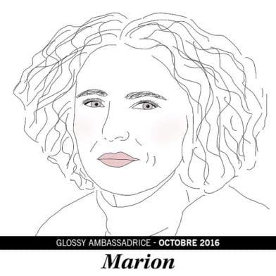 Marion, notre ambassadrice du mois d'Octobre 2016