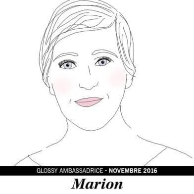 Marion, notre ambassadrice du mois de Novembre 2016