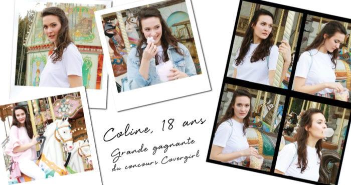 Coline, la cover-girl de Mai