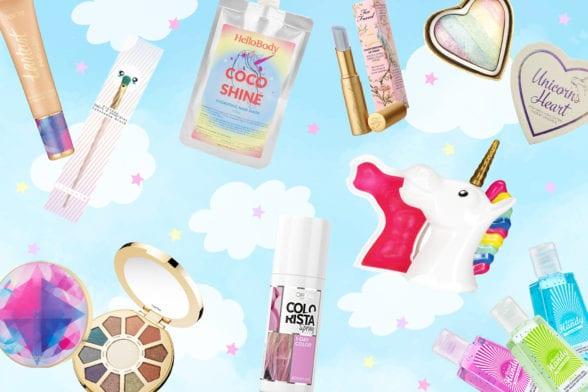 Les licornes s'invitent dans nos cosmétiques favoris !