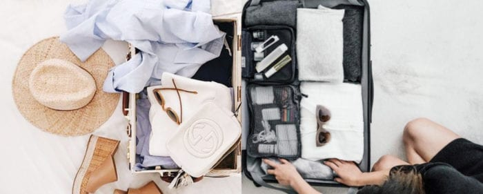 Faites bien vos valises !