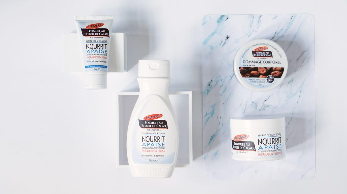 Découvrez la gamme enrichie au beurre de cacao de Palmer's – votre skin saviour !