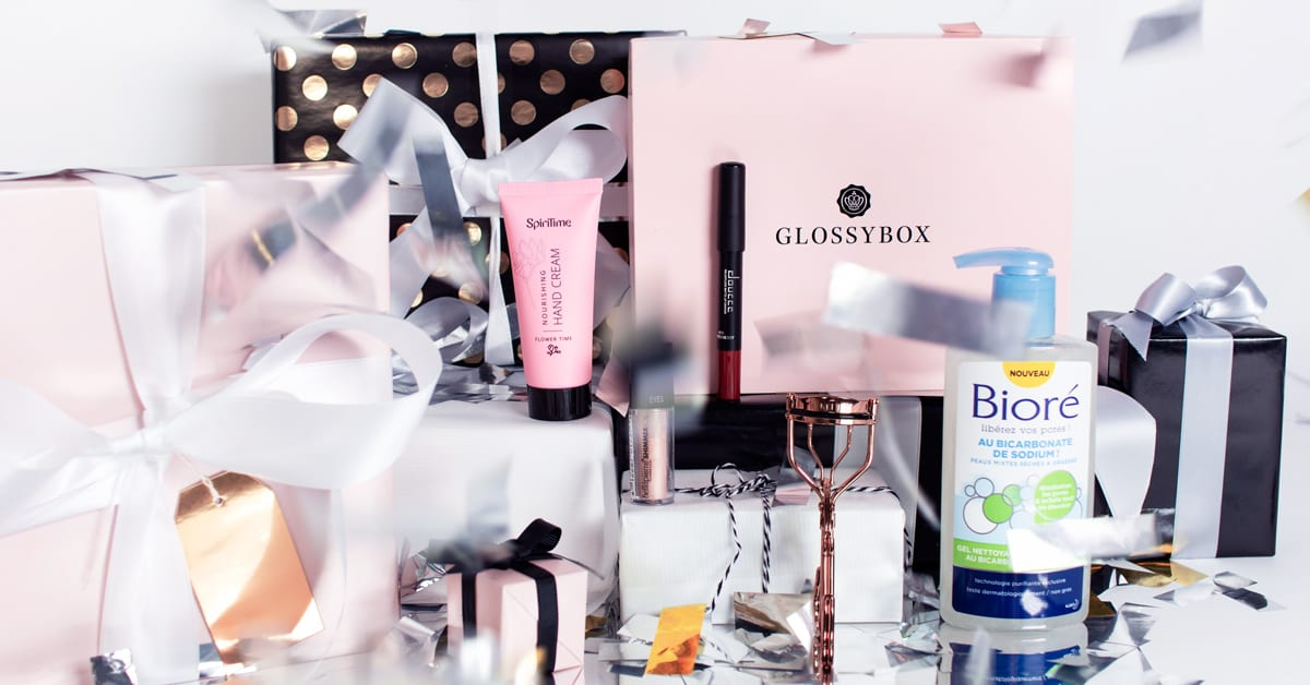 Unboxing de novembre – votre GLOSSYBOX «Make a Wish»