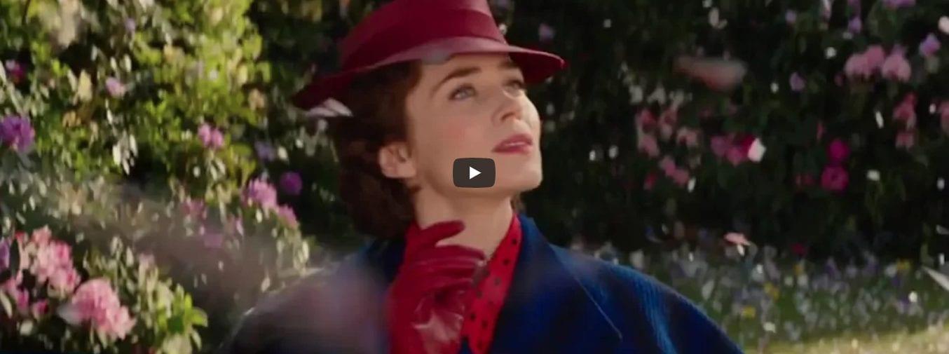 Le retour de Mary Poppins – découvrez la bande-annonce officielle !