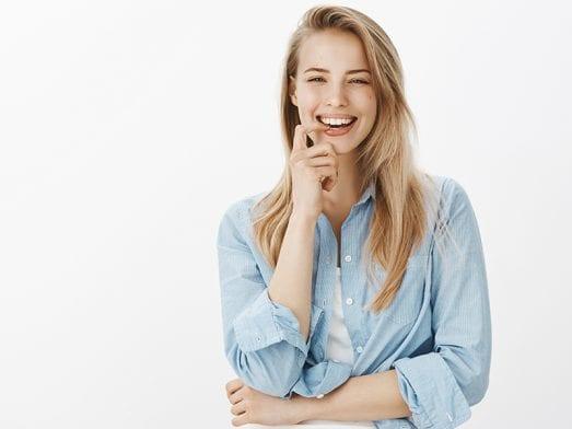 3 enkla steg till ett vitare leende