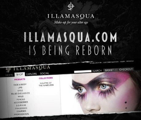 Illamasqua.com is being reborn