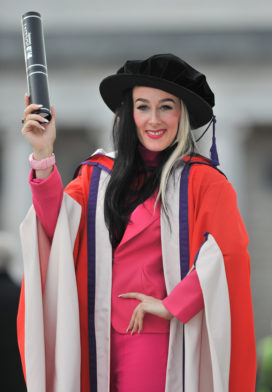 Alex Box receives an honorary degree