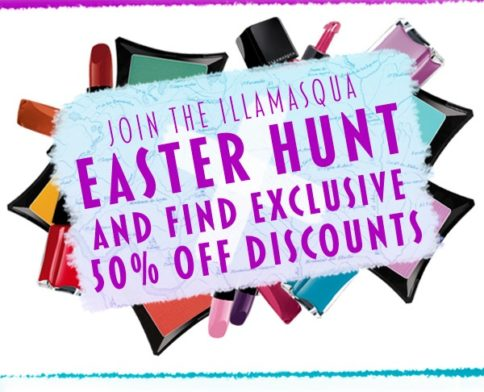 Illamasqua Easter Hunt...